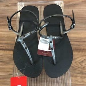 Havaianas Freedom Flip Flop Ankle Strap Sandal New